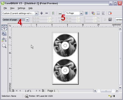 how to center object in corel draw using lenovo keyboard